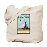Travel Colorado Tote Bag