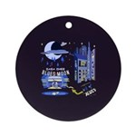 blues moon Ornament (Round)