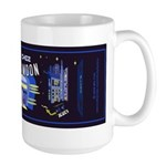 blues moon Large Mug
