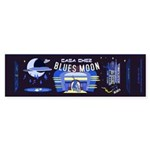blues moon Sticker (Bumper 50 pk)