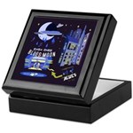 blues moon Keepsake Box