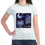 blues moon Jr. Ringer T-Shirt