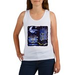 blues moon Women's Tank Top