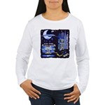 blues moon Women's Long Sleeve T-Shirt