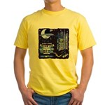 blues moon Yellow T-Shirt