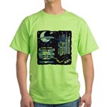 blues moon Green T-Shirt