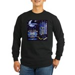 blues moon Long Sleeve Dark T-Shirt