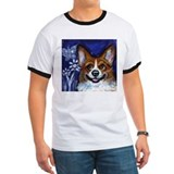 Corgi eyes Butterfly T