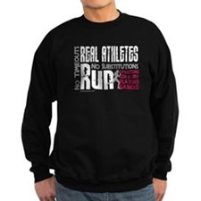 Real Athletes Run - Female Sweater