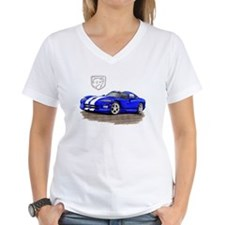 Viper Blue/White Car Shirt