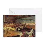 Atheist Christmas Gift Cicero Greeting Cards (Pack