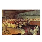 Atheist Christmas Gift Cicero Postcards (Package o
