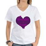 Mer + Der Women's V-Neck T-Shirt