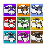 Photography Pop Art Tile Coaster