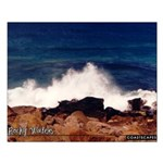 Rocky Waters Small Poster