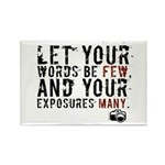 Photographers Blessing Rectangle Magnet (100 pack)