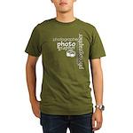 Photographer Organic Men's T-Shirt (dark)