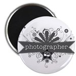 """Photographer 2.25"""" Magnet (100 pack)"""