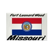 Fort Leonard Wood Missouri Rectangle Magnet