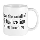 I Luv The Smell of Virtualiza Small Mug