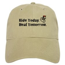 Ride Today Baseball Cap (Tan)