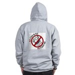 No Chains No Fights Zip Hoodie