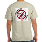 No Chains No Fights Light T-Shirt