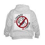 No Chains No Fights Kids Hoodie