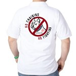 No Chains No Fights Golf Shirt