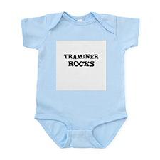 TRAMINER ROCKS Infant Creeper
