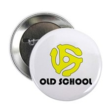 "Old School 2.25"" Button"