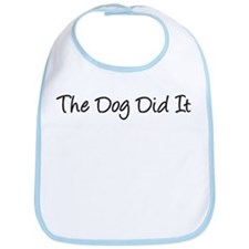 The Dog Did It! Bib
