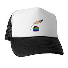 Rainbow Writer Trucker Hat