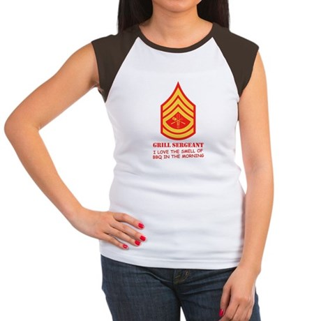 Grill Sgt. Women's Cap Sleeve T-Shirt