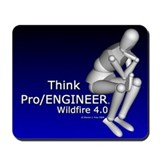 Think Pro/ENGINEER Mousepad