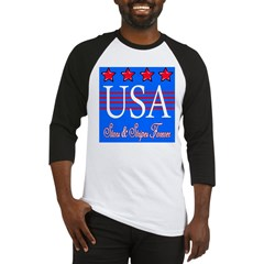 USA Stars & Stripes: Baseball Jersey