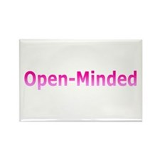 Open-Mind (Pink) Rectangle Magnet (10 pack)