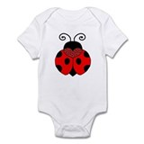 Polka Dot Lady Bug Infant Bodysuit