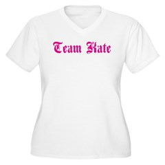 Team Kate Women's Plus Size V-Neck T-Shirt