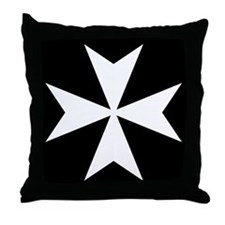 Maltese Cross Pillow