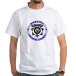 Sheriff Lincoln County White T-Shirt