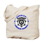 Sheriff Lincoln County Tote Bag
