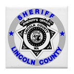 Sheriff Lincoln County Tile Coaster