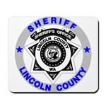 Sheriff Lincoln County Mousepad