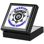 Sheriff Lincoln County Keepsake Box
