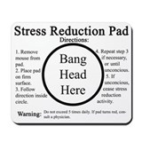 Funny Office workers Mousepad