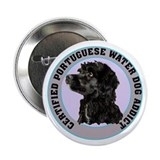 portuguese water dog addict Button