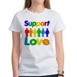 Support Love Women's T-Shirt