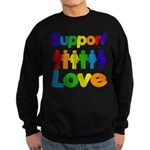 Support Love Sweatshirt (dark)