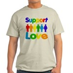 Support Love Light T-Shirt